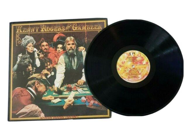 Kenny Rogers The Gambler Vintage Vinyl LP Record Album ...