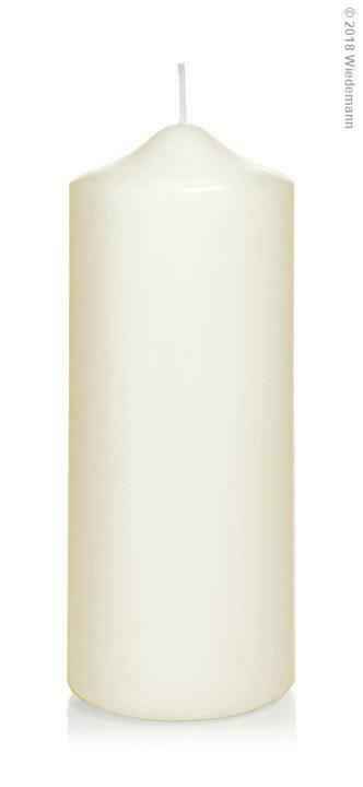 6x Spitzkopfstumpenkerzen 200 80mm (Farbwahl)