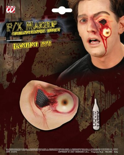 HALLOWEEN HANGING EYE MAKEUP SCAR WOUND HORROR PARTY FANCY DRESS ACCESSORY