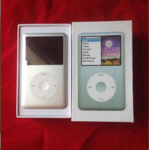 120 GB Apple iPod classic 7th Generation Silver