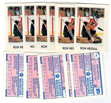 1X RON HEXTALL 1987 88 O Pee Chee Mini #16 RC Rookie NRMT OPC Lots Available