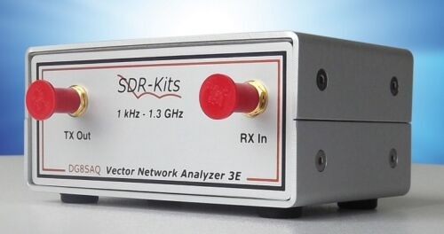 Low Cost Vector Network Analyzer VNA DG8SAQ VNWA 3EC 1.3 GHz by SDR-Kits