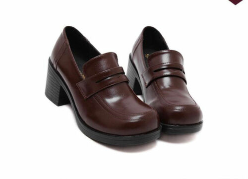 New Japanese Girl Student Women Shoes JK Uniform Shoes Loafers Cosplay Shoes