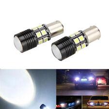 2x No Error Canbus 360° White LED Backup Reverse Light Bulb P21W 1156 7506 BA15S