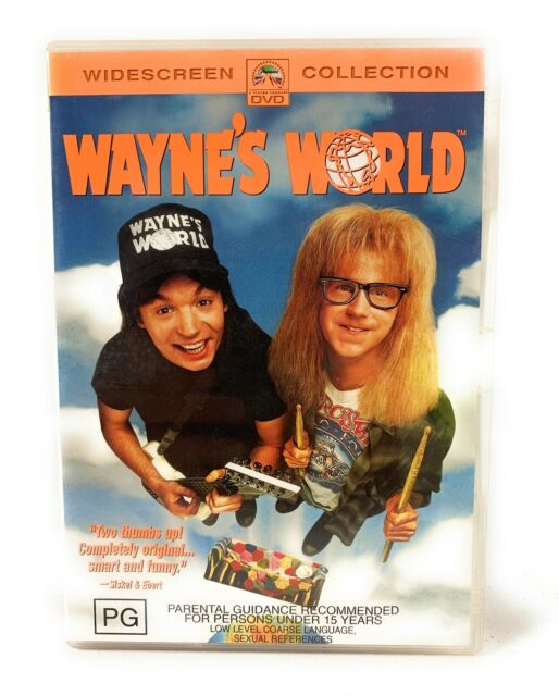 Wayne's World DVD Widescreen Collection Region 4 Free Postage