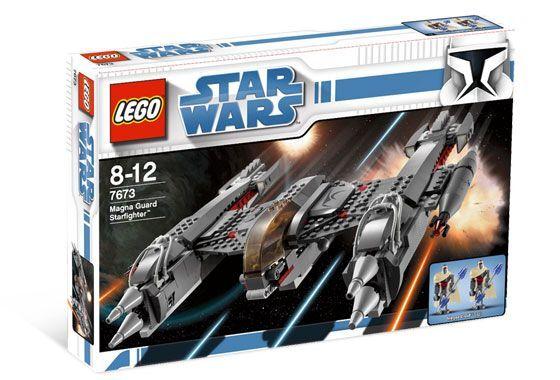 Brandneu Lego Star Wars The Clone Wars Magna Schutz Starfighter 7673