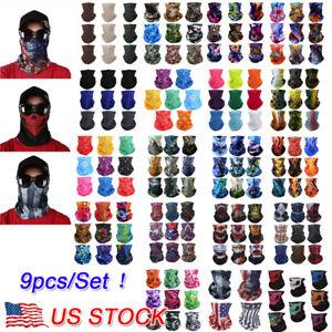 9PCS-Set-Face-Mask-Sun-Shield-Neck-Gaiter-Balaclava-Neckerchief-Bandana-Headband