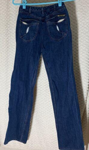 """Vintage N Est Ce Pas indigo denim jeans 24"""" waist"""