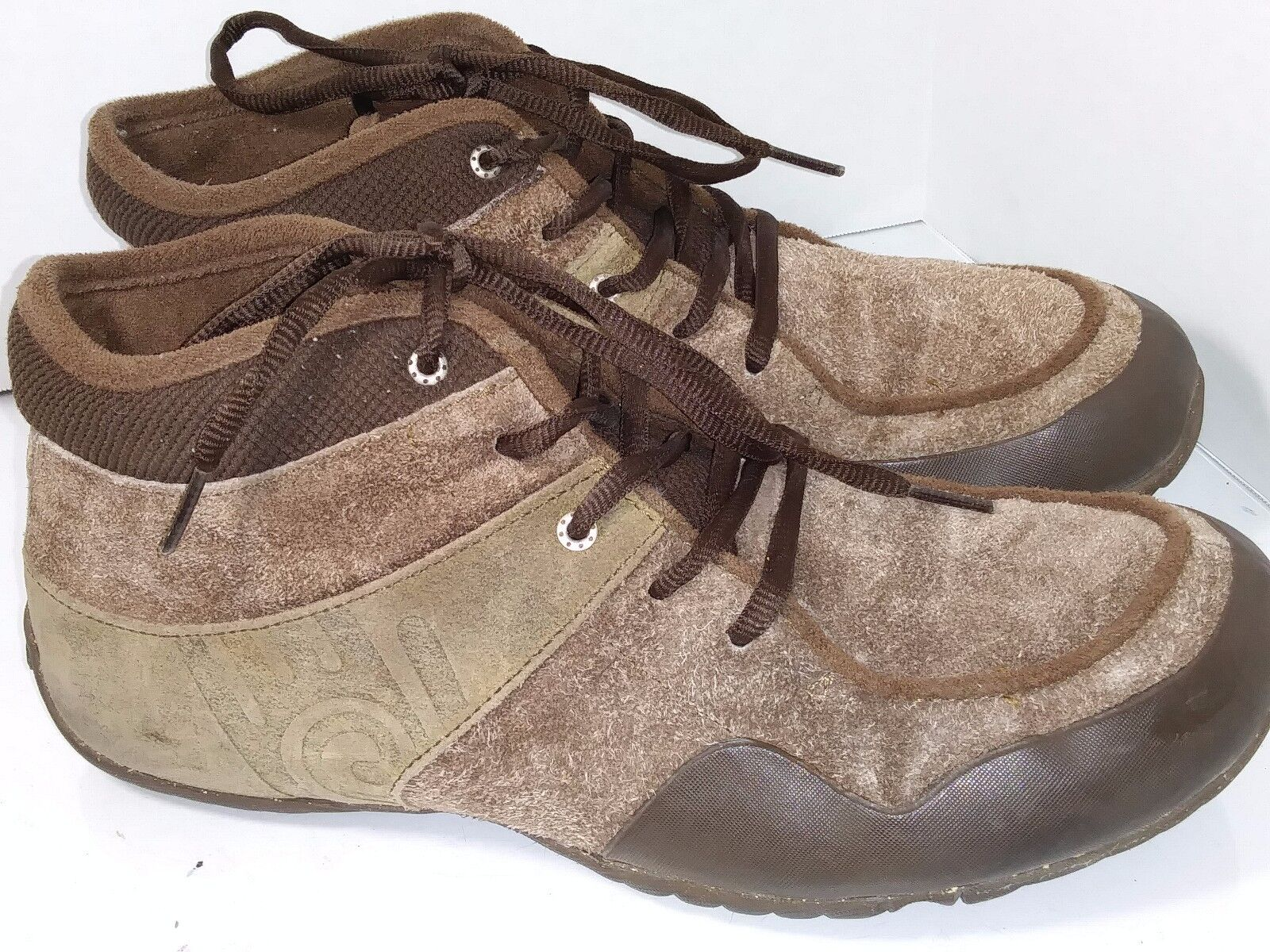 Teva Kendal plaza taupe 6043 Brown Suede Ankle Boots Mens Size 10.5