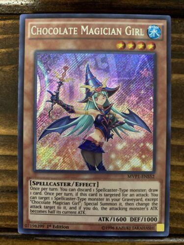 MVP1-EN552 Chocolate Magician Girl Secret 1st Ed