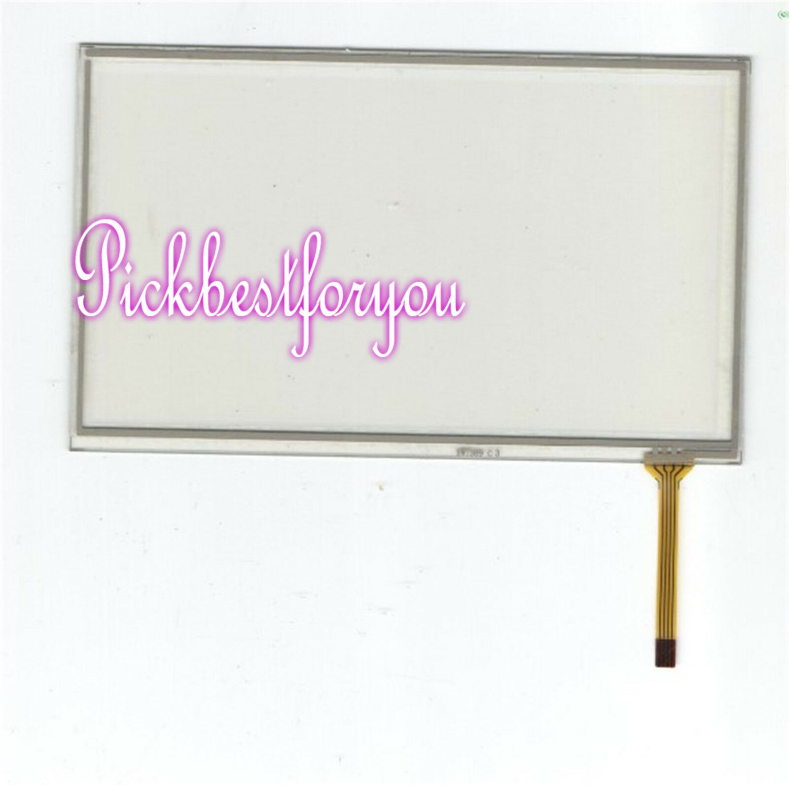 NEW For HST-TPA-7.0CM 7  4wire Touch Screen Glass 60 days warranty  H678E YD