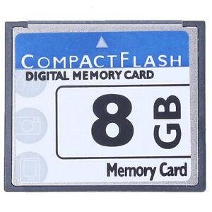 Professional Carte Mémoire Compact Flash 8 Go (Whiteandblue) N8E3