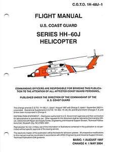 hh 60j helicopter u s coast guard flight manual cd version ebay rh ebay com coast guard manual of arms coast guard manual advancement