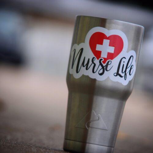 Nurse Life Sticker