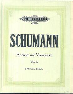 Schumann-Andante-und-Variationen-Opus-46-fuer-2-Klaviere-zu-4-Haenden