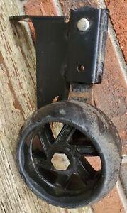 2 TWO HUSQVARNA OEM 532155986//155986//155986X431 FRONT GAUGE WHEEL BRACKETS.