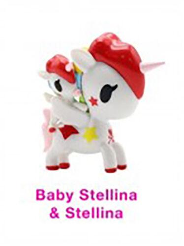 NEW Tokidoki Unicorno Friends Vinyl Figurine Collectible Baby Stellina Stellina