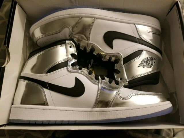 size 40 d9ded b4e79 Nike Air Jordan 1 Think 16 Pass The Torch Kawhi Leonard Shoe for Men, Size  10.5 - Silver/Black/White