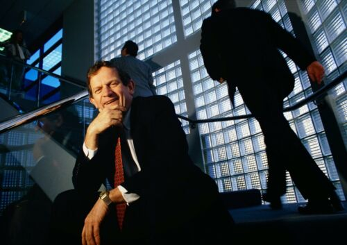 CANVAS Cisco Systems Chief Executive Officer John Morgridge Art print POSTER