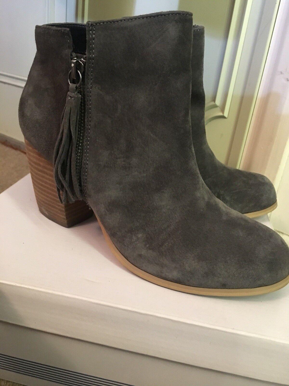 Pier One Grau Größe Grau One Suede Ankle Stiefel, Größe One 6 39 ff97d9 861f76