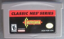 Castlevania Classic NES Series Nintendo Game Boy Advance plays in Lite SP System