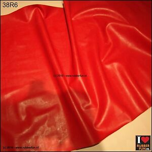 Image Is Loading Pure Red Rubber Sheet Bed Protector Clinical Red