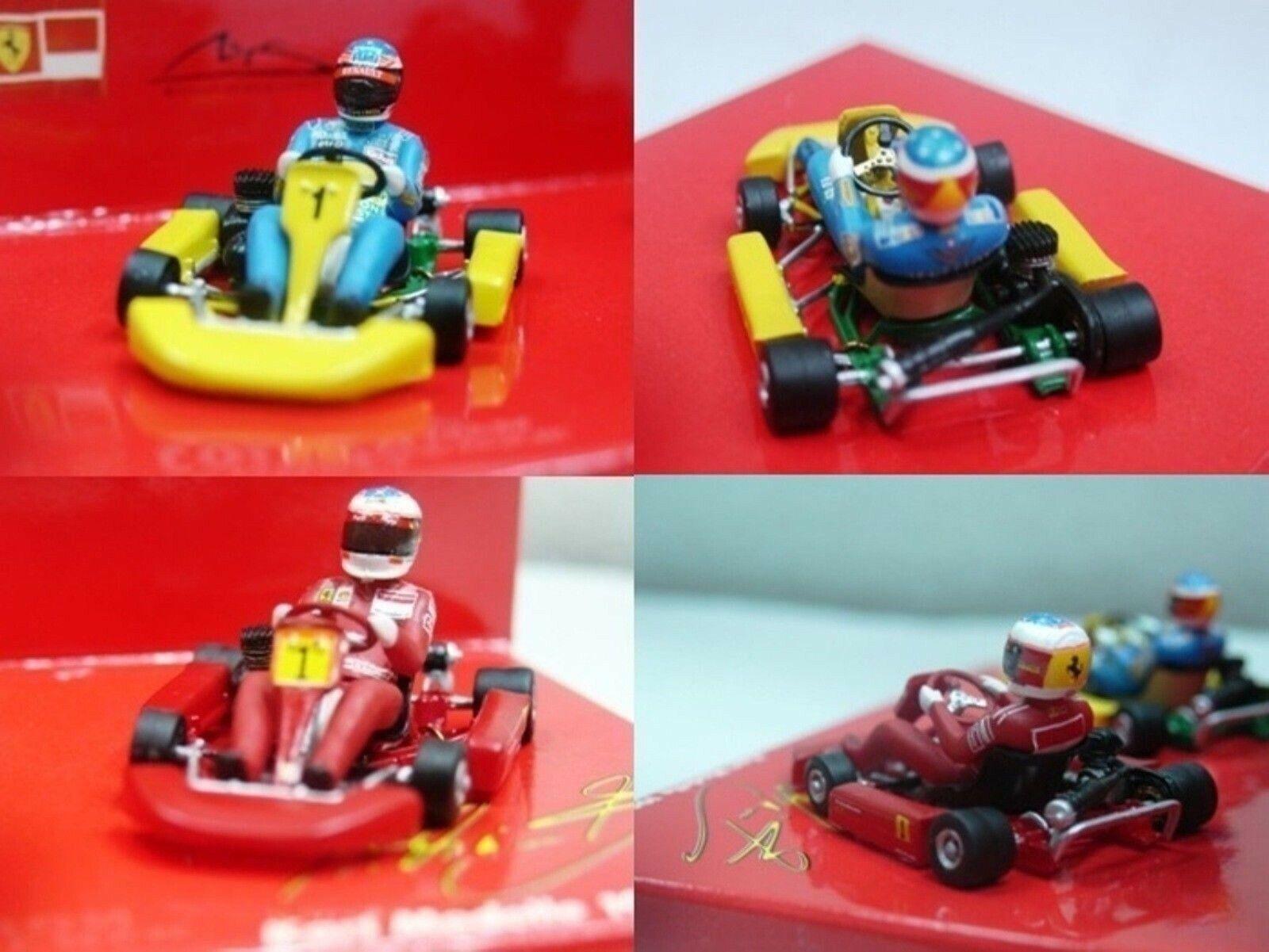 WOW EXTREMELY RARE Kart Schumacher Kart Set 1995 & 1996 MSC  43 Minichamps