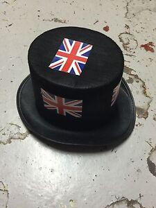 PUNK-COS-PLAY-FESTI-BLACK-Top-hats-England-all-NEW