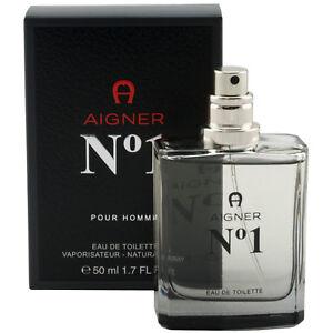 Aigner-NO1-Pour-Homme-50-ml-Eau-de-Toilette-EdT-Spray-for-man
