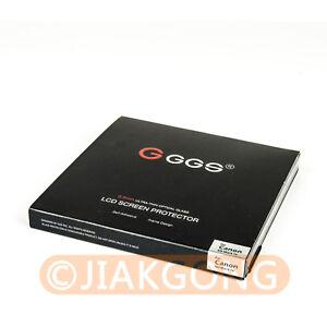 GGs Iv 0,3 Mm Autoadhesivo Vidrio Larmor Protector De Pantalla ggs4 Para Canon 70d