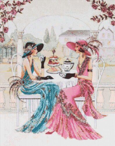 ART Deco Donna-cross stitch chart