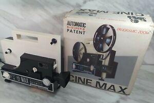 Vintage Automatic 8+ Super 8 Cine Max K6 Reel To Reel Projector Retro