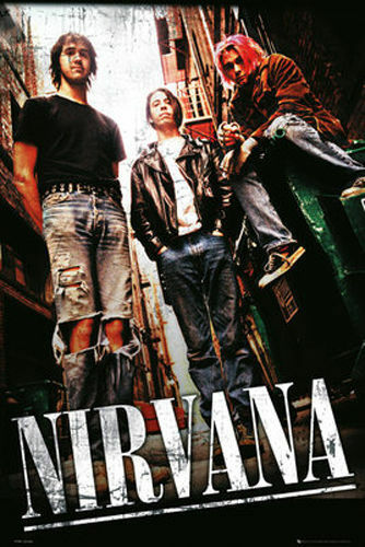 ALLEY NIRVANA LANEWAY POSTER 61X91CM PICTURE PRINT NEW ART LAMINATED