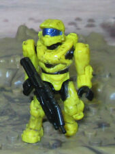 ** HALO Mega Bloks SPARTAN MARK VI yellow from UNSC Cobra set Halo 4 H4 ar