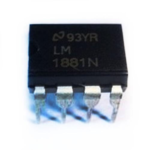 5//25pcs LM1881N LM1881 DIP-8 Video Sync Separator BBC