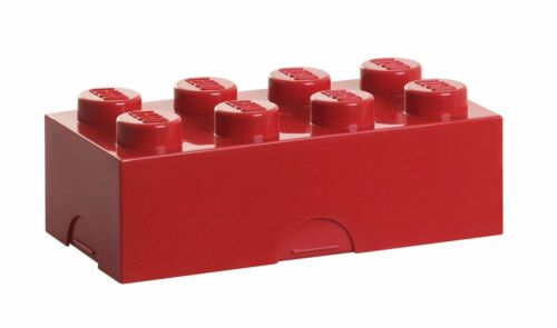 LEGO Lunch Box Red Free Shipping New
