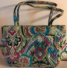 717fa21c1b9a Excellent Vera Bradley Retired Rare Limited Edition Silk Paisley Bella Bag
