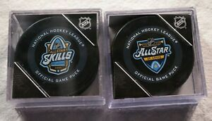St-Louis-Blues-2020-All-Star-Game-amp-Skills-Competition-Game-Puck-NHL-Hockey