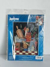 Janlynn 17-0105 14 Count Kitchen Still Life Cross Stitch Kit 11 by 14-Inch