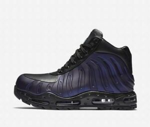 Nike Air Max Foamdome 843749-500 Varsity Purple Black Men's Foamposite Boots