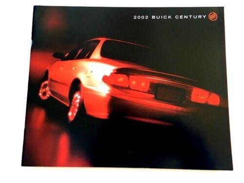 2002 Buick Century 34-page Original Car Sales Brochure Catalog