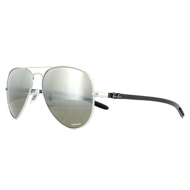 3fd0a339b2c Ray-Ban 0rb8317ch58 Chromance UK RAYBAN RB 8317 Polarized Made in Italy  003 5j Silver Mirror