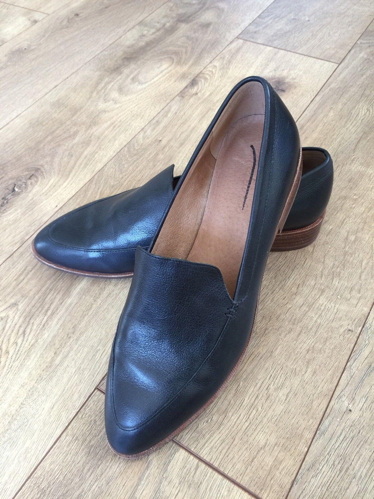 Nouveau Madewell Femme le Frances Mocassin Chaussures H2419 Noir Taille 9