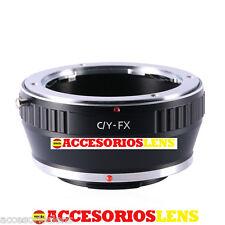 ADAPTADOR DE OBJETIVOS CONTAX/Y C/Y CY A FX,Fujifilm, Fuji X-Pro1, XPro1 X Pro 1