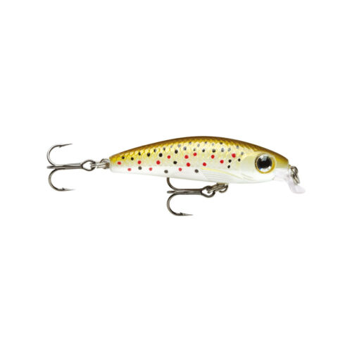 Ultra Light Minnow 6cm Brown Trout Rapala Kunstköder Wobbler