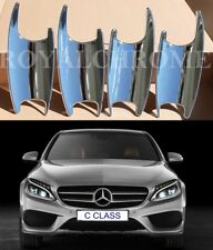 Chrome Door Handle Cover Trim For Mercedes-Benz C E GLC CLASS W205 W213 X253 4PC