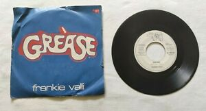 GREASE-7-034-FRANKIE-VALLI-45-GIRI-VINYL-ITALY-1978-RSO-AS5000483-VG-EX