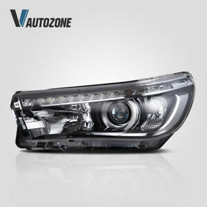 Details about 1pair LED Headlights Head Lamps For Toyota Hilux VIGO Hilux  Revo 2016 2017