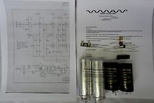 McINTOSH MC75 MC 75 TUBE AMP POWER SUPPLY & BIAS CIRCUITRY RESTORATION KIT