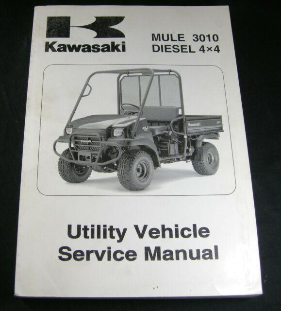 Kawasaki Mule 3010 Trans 4x4 Diesel Utility Vehicle